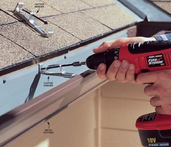 Cost of pricing estimate gutters gutter repair costs in Richardson area
